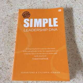 Buku Simple Leadership DNA