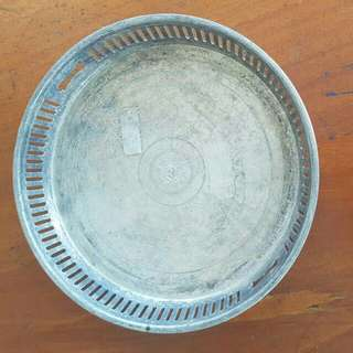 Piring Besi R. P Antik Kuno Terawat