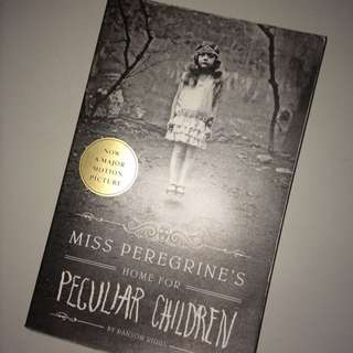 Miss Peregrine's Home For Peculiar Children book💀