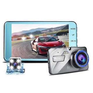 4.0 IPS Dual Lens Car DVR Auto Camera Cars DVRs Camcorder FHD1080P Recorder Video Dash Cam