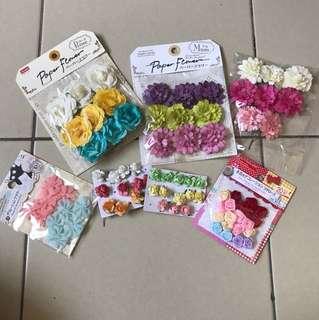 Decoration / Paper flower