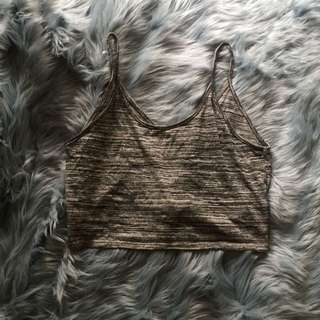 H&m Cropped Oversized Singlet