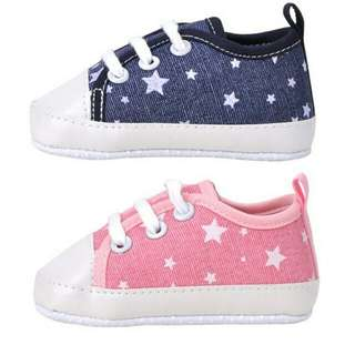 Baby Girl Boy Canvas Soft Sole Sneakers