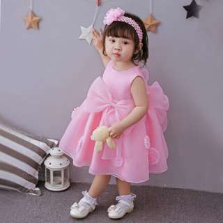 Kids girl Dress birthday party pink size 2y