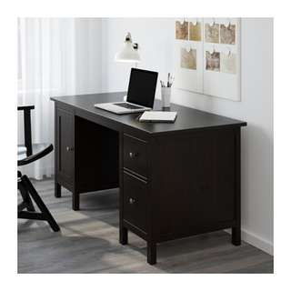 Hemnes desk w/free office chair