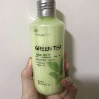 The Faceshop Green Tea Waterfull Emulsion