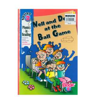 BF: PHONICS in READING Series 2 Nell & Dell at the Ball Game Childrens Book