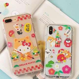 (預售)狗年Hello Kitty iphonex手機殻