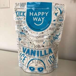 Happy Way Vanilla Protein Powder 500g