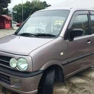 Perodua kenari auto for rental per day,week n month