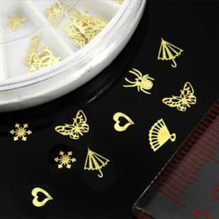 Gold Nail Tip Sticker