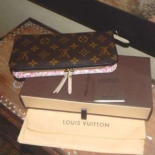 LOUIS VUITTON limited edition mono pink leopard insolite wallet (2010)