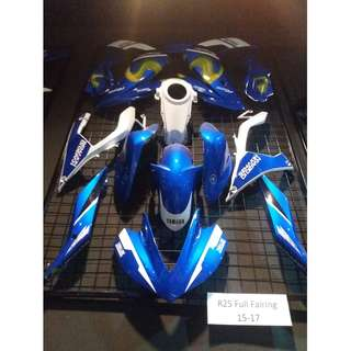 NEW FAIRING/COVERSET FOR YAMAHA R25/R3