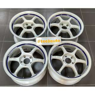 ADVAN RG 17x7.5j8.5j off29 31 5x114.3 Made in JAPAN
