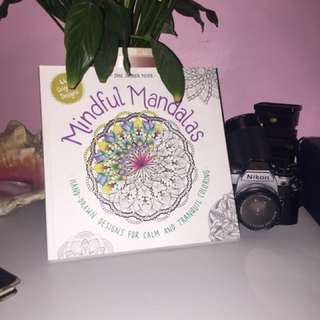 Mindful Mandalas colouring book
