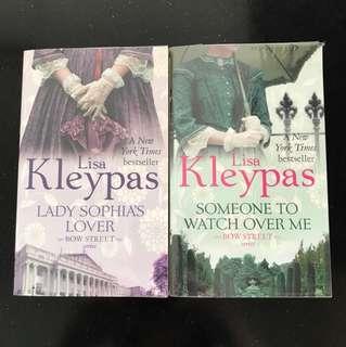 Lisa Kleypas Bow Street Series (incomplete)