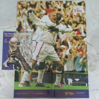 World Cup 2002 Guide Book & Poster