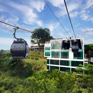 Singapore Cable Car + Wings of Time and Daily Buffet (Lunch or Dinner)