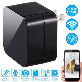 Hidden Spy Camera Full HD Megapixels Wireless WiFi Charger
