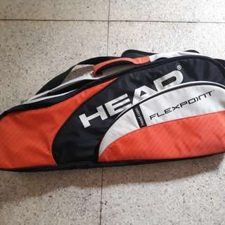 Head Tennis Racket and Bag
