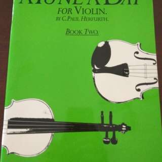Violin Book- A Tune A Day, Bk 2