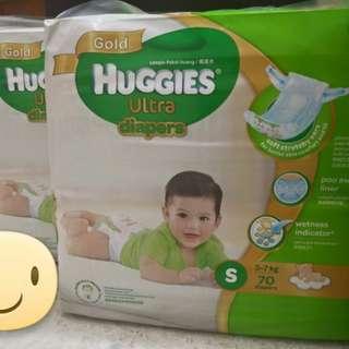 Huggies Ultra diapers S70