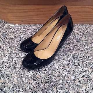 Nine West Black Patent Heels