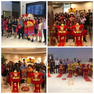 Lion Dance Service for Dog Year