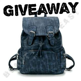 Giveaway BackPack