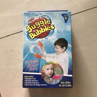 Kids playset juggle bubble