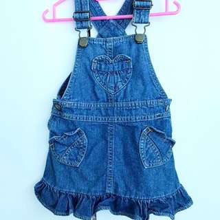 Denim Dungaree (1y-1.5y)