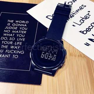 防水電子手錶