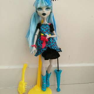 Monster High Doll freaky fusion