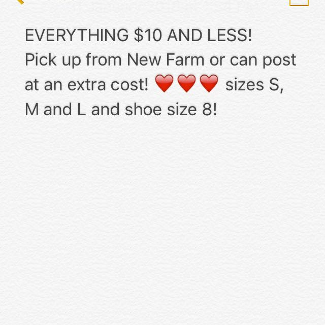$10 AND UNDER!