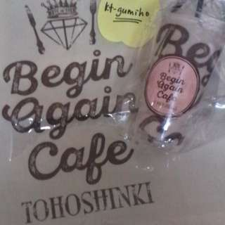Tohoshinki TVXQ DBSK Official Begin Again Cafe