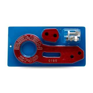 Car Towing Rear Bolt with 2 Holes(Red)