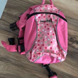 Muchkins safety harness backpack