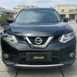 Nissan Grand Xtrail 2.5 at 2015 hitam metalik