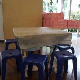 Stools and Tables for Rent