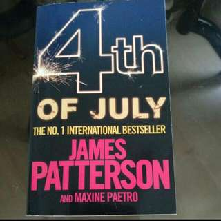Books For Sale [4th Of July By James Patterson and Maxine Paetro]