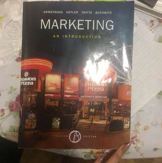 An introduction to marketing 6th edition