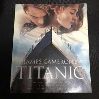 珍藏絕版 Titanic 鐵達尼電影制作特刊 (原装正版)