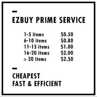 EZBUY PRIME SERVICE