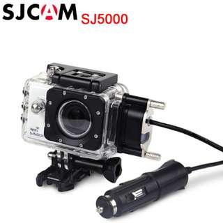 Waterproof Case for SJCAM SJ5000/ SJ5000 WiFi/ SJ5000 Plus Camera Motorcycle Use