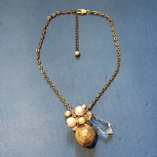 Gold Bauble Necklace