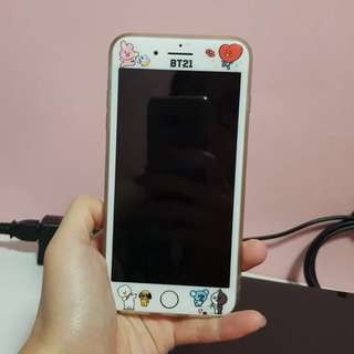BT21 x BTS Tempered Glass Screen Protector