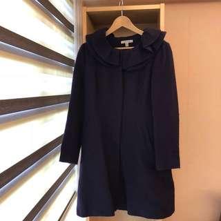 mademoiselle purple coat 🧥