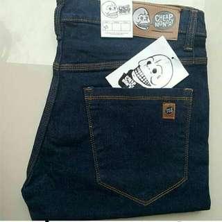 Celana jeans pria levis cheap monday dickies