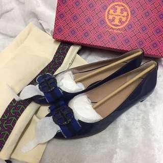美國代購,香港現貨:全🆕Tory Burch鞋👟👠👣 only US9碼(39-39.5碼適合)100%正品!連盒連塵袋