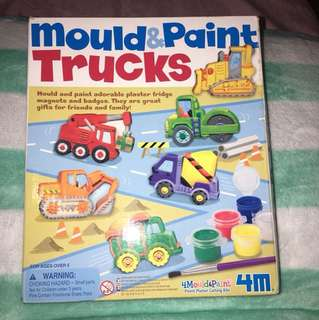 Mold & paint trucks